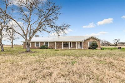 Burleson County Single Family Home For Sale: 8187 Fm 3058