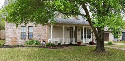 College Station Single Family Home For Sale: 9224 Shadowcrest Drive