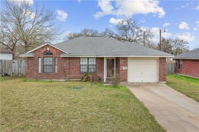 Bryan , College Station Single Family Home For Sale: 408 Silkwood Drive