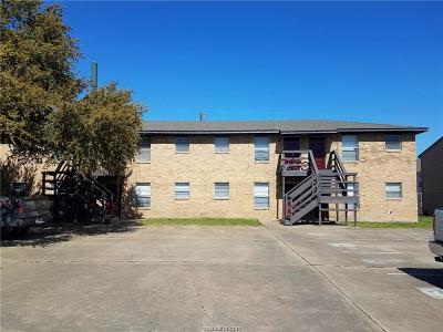 Brazos County Multi Family Home For Sale: 303 Spruce Street #1-8