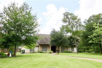 Brazos County Single Family Home For Sale: 2900 Camille Drive