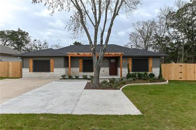 Bryan Single Family Home For Sale: 909 Coulter