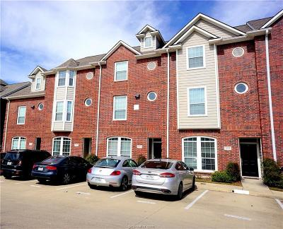 College Station TX Condo/Townhouse For Sale: $229,888