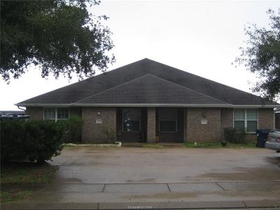Brazos County Multi Family Home For Sale: 3701-3703 Oldenburg Lane