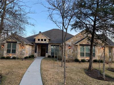Bryan Single Family Home For Sale: 3912 Austins Estates Drive