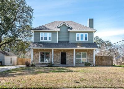 College Station Single Family Home For Sale: 1000 Milner Drive