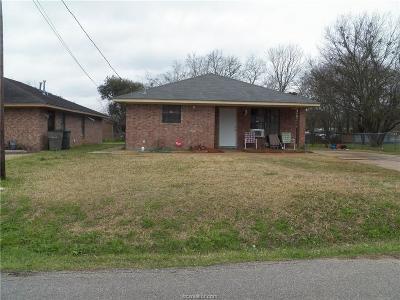 Bryan Single Family Home For Sale: 1513 Water Oak Street