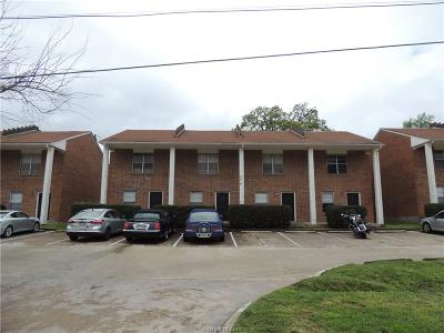 Brazos County Multi Family Home For Sale: 3416-3420 Sandra Drive