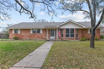 Bryan Single Family Home For Sale: 1107 Sul Ross Drive