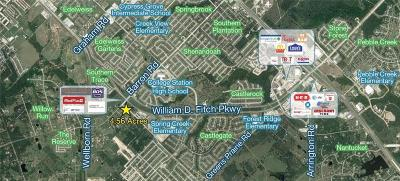 Brazos County Residential Lots & Land For Sale: 412 William D Fitch Parkway