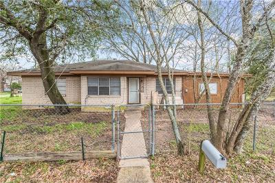 Bryan Single Family Home For Sale: 3410 Green Street
