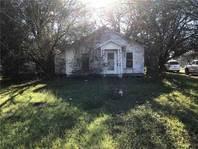 Bryan Single Family Home For Sale: 3210 Doerge Street