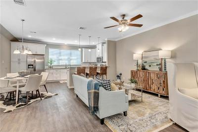 Bryan  , College Station Condo/Townhouse For Sale: 2019 Harvey Mitchell Parkway