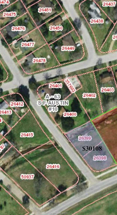 Bryan Residential Lots & Land For Sale: .52 East 104, 106 Dumas Street