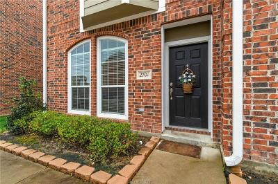 College Station Condo/Townhouse For Sale: 1198 Jones Butler Road #2701
