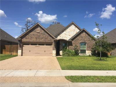 College Station TX Single Family Home For Sale: $305,000