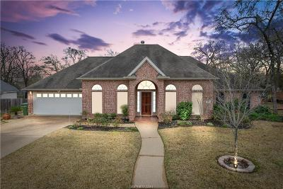 Bryan Single Family Home For Sale: 3704 Williams Trace Drive