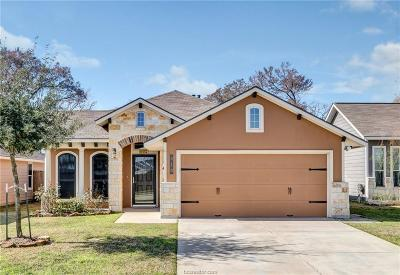 College Station TX Single Family Home For Sale: $212,000