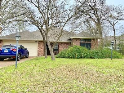 College Station Single Family Home Contingency Contract: 2702 Wingate