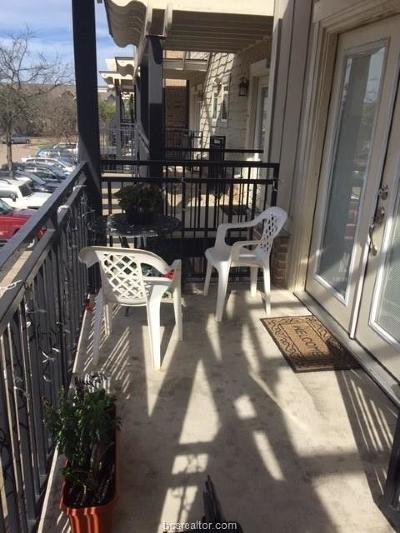 Brazos County Condo/Townhouse For Sale: 1725 Harvey Mitchell Pkwy. #229