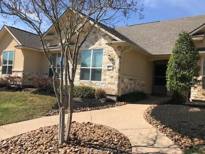 Brazos County Condo/Townhouse For Sale: 3807 Silverthorne Lane