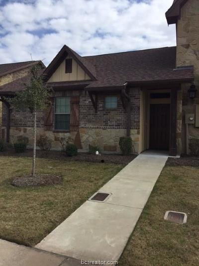 Brazos County Condo/Townhouse For Sale: 133 Armored
