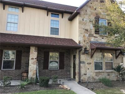 College Station Condo/Townhouse For Sale: 2902 Old Ironsides Drive