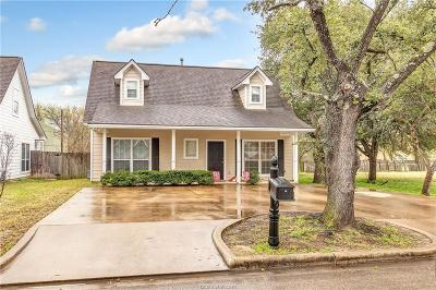 College Station TX Single Family Home For Sale: $195,000
