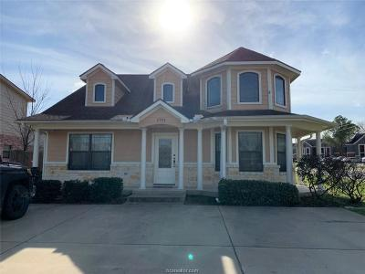 Brazos County Multi Family Home For Sale: 1701,1702,1703,1704 Boardwalk Court