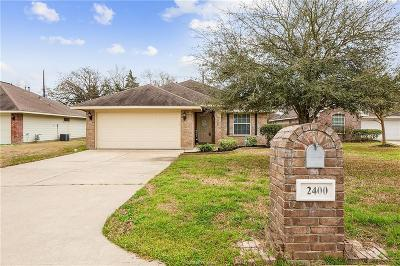 Bryan Single Family Home For Sale: 2400 Woodbend Drive