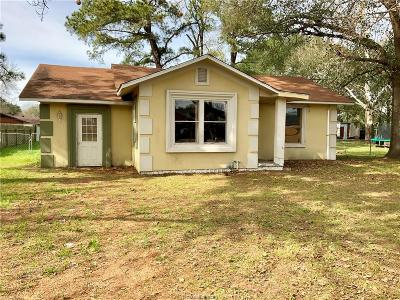 Hearne Single Family Home For Sale: 210 Rose Marie Boulevard