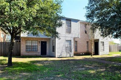 Brazos County Multi Family Home For Sale: 1805 Woodsman Drive #A-D