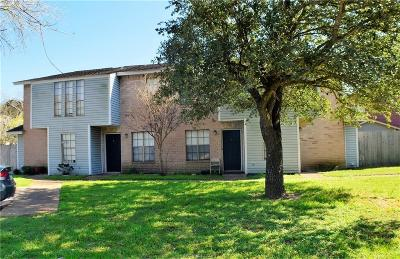Brazos County Multi Family Home For Sale: 1807 Woodsman Drive #A-D