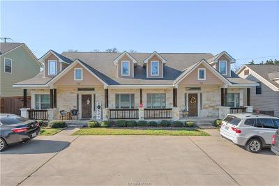 Brazos County Multi Family Home For Sale: 725/727 & 809/811 Dominik Drive
