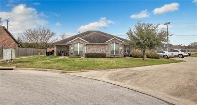 College Station Multi Family Home For Sale: 3600/3602 Hollyhock Street
