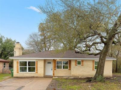 Bryan Single Family Home For Sale: 3215 Wilkes Street