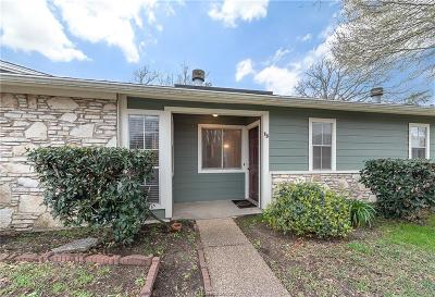 College Station TX Condo/Townhouse For Sale: $120,000