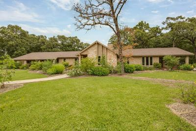 College Station Single Family Home For Sale: 6015 Los Robles Drive