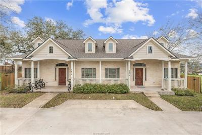 Bryan , College Station  Multi Family Home For Sale: 402 Nimitz Street #A&B