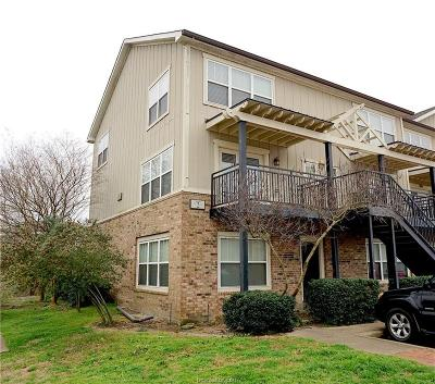 Brazos County Condo/Townhouse For Sale: 1725 Harvey Mitchell #221
