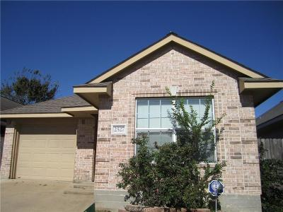 Bryan Single Family Home For Sale: 2527 Rhapsody Court
