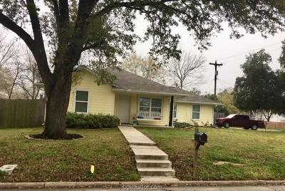 Bryan Single Family Home For Sale: 301 North Haswell Drive