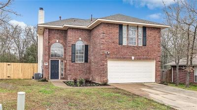 Bryan Single Family Home For Sale: 2003 Kimmy Drive