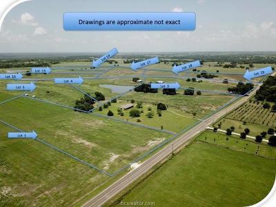Navasota Residential Lots & Land For Sale: Lot 5 Reagans Way