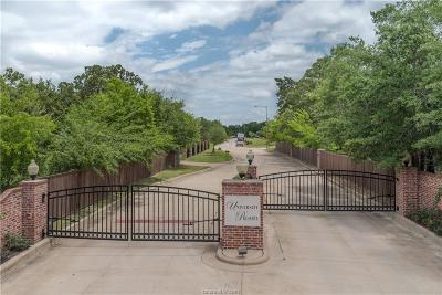 College Station Residential Lots & Land For Sale: 1014 Sanctuary Court