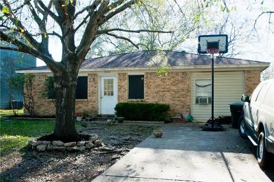 College Station Single Family Home For Sale: 3402 Wildrye Drive