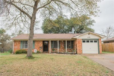 Bryan Single Family Home Contingency Contract: 1408 Esther