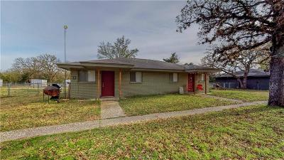Brazos County Multi Family Home For Sale: 16567 Fm 2154 Road