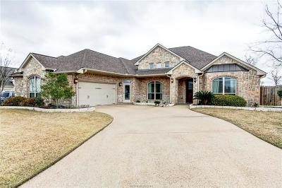 Brazos County Single Family Home For Sale: 2460 Stone Castle Drive
