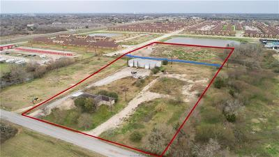 College Station Residential Lots & Land For Sale: 3127 Cain Road